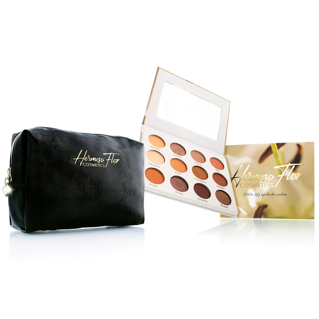 White Lily Eyeshadow Palette + Hermosa Essentials bag