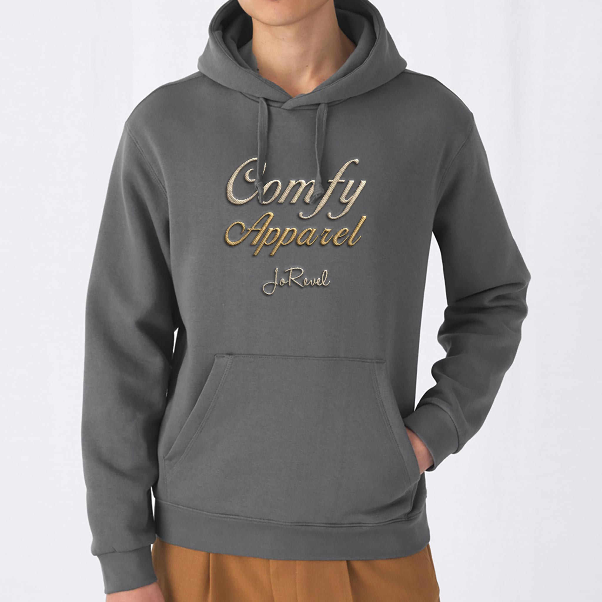 Embrodert Hodie Comfy Apparel Jorievel Embroidery