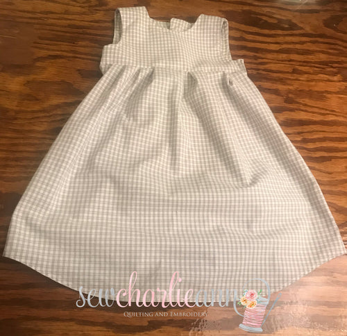 Made to Order: Custom Man's Dress Shirt into Little Girls Dress