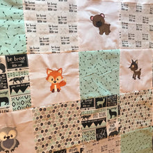 Load image into Gallery viewer, Baby/Toddler Woodland Quilt