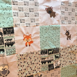 Baby/Toddler Woodland Quilt