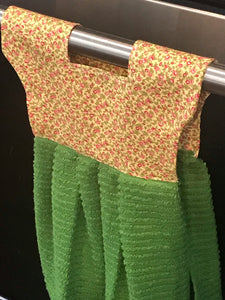 Farmhouse/Vintage Doll Dress Towel