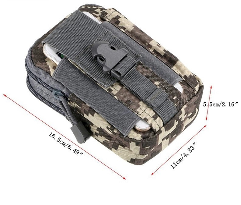 600D Durable Waterproof Police Belt Bag Military&Tactical Waist Bag
