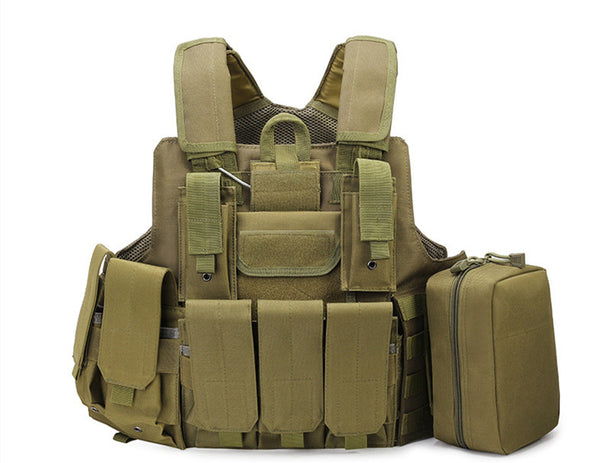 600D  Oxford Multi-purpose military police vest