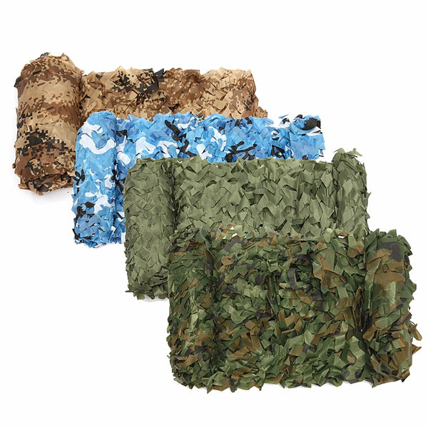 Military Camouflage Net Sun Shelter Woodland Army Camo Netting