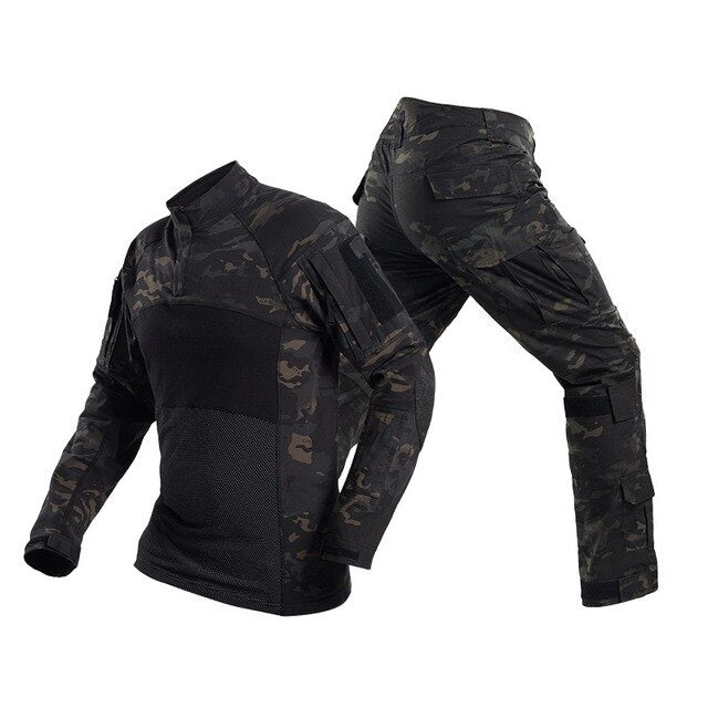Camouflage Military Army Tactical Uniform