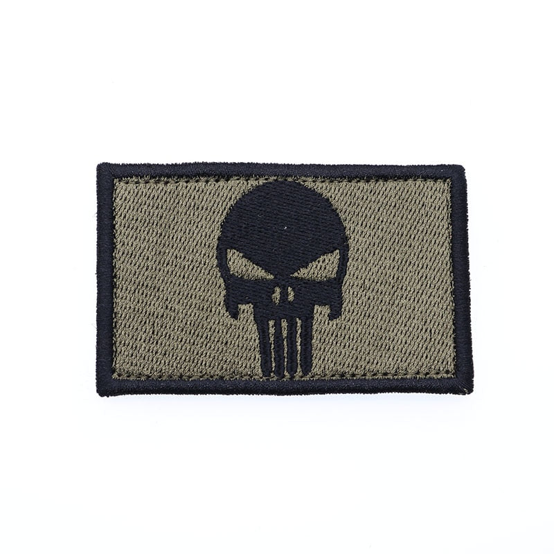 Backpack Hat Military Uniform Embroidered Patch  For Clothes Dressing