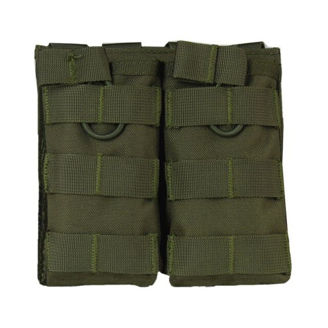 Tactical MOLLE Double Open Top Mag Pouch M4/M16 Magazine Pouch