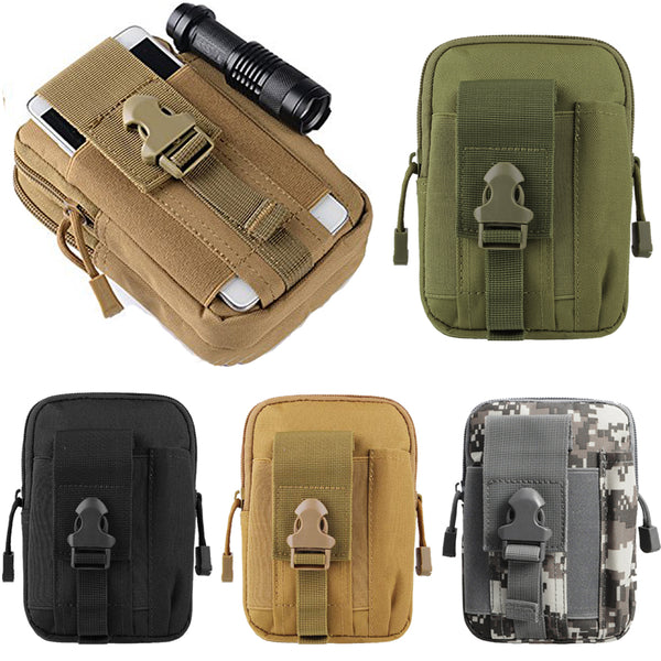 Tactical Universal Holster Military Molle Hip Waist Belt