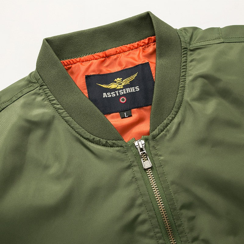 2019 High quality Ma1 Thick and Thin Army Green Jacket