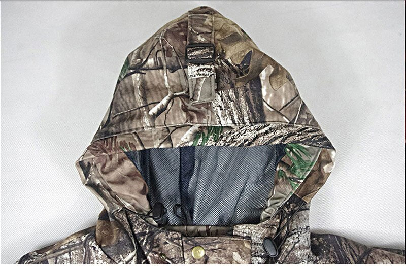 Woodland Waterproof Camouflage Suits Hunting Clothes Jacket and Pants