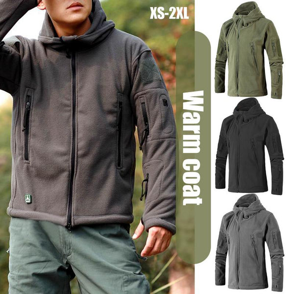 Men Jacket Coat Military Tactical fleece jacket Uniform Soft Shell