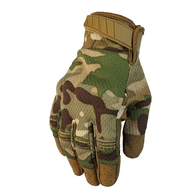 Military Army Combat Full Finger Camouflage Men Gloves