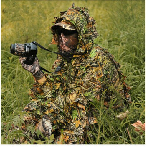 Camouflage Ghillie Suits for Hunting with Carry bag