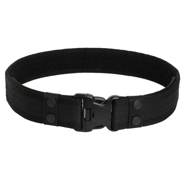 New Combat Canvas Duty Tactical Sport Belt with Plastic Buckle