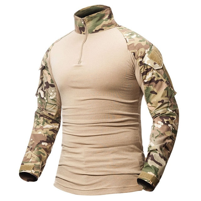 Tactical Combat Shirt Military Uniform Us Army Clothing
