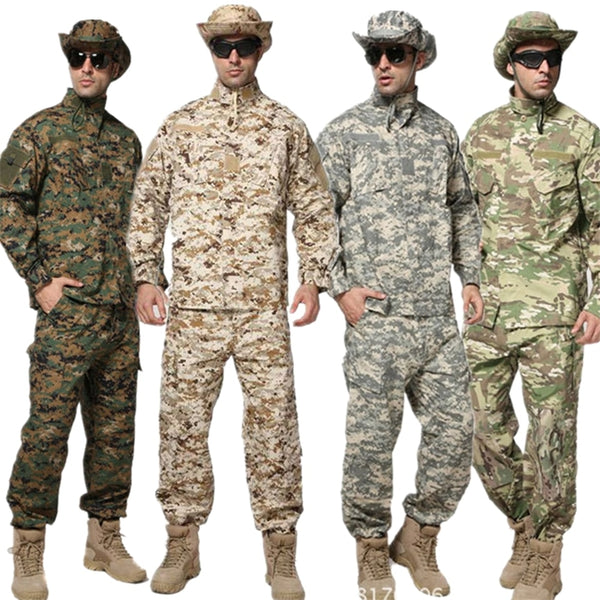 10Color New Men Militar Uniform