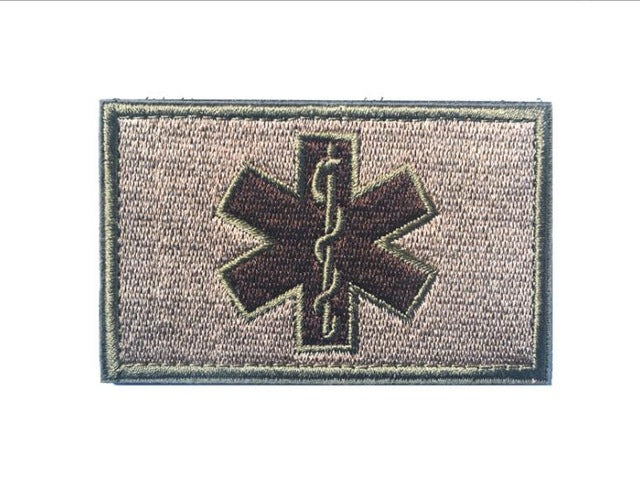 Emergency Embroidery Patch Workwear