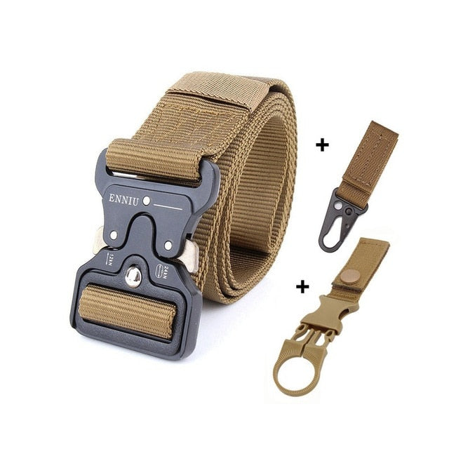 Nylon Tactical Belt Army Belt Men Outdoor Training Belts