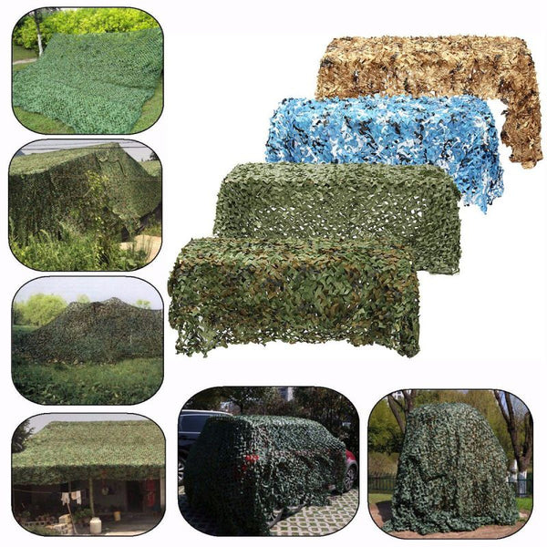 Woodland Camouflage Camping Camo Net