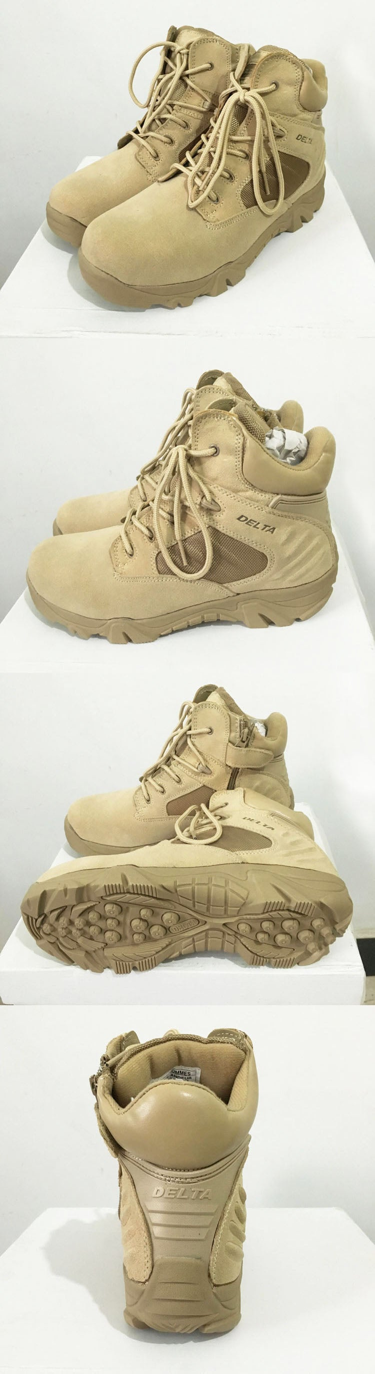 Winter Autumn Men Military Boots Quality Special Force Tactical Desert Combat