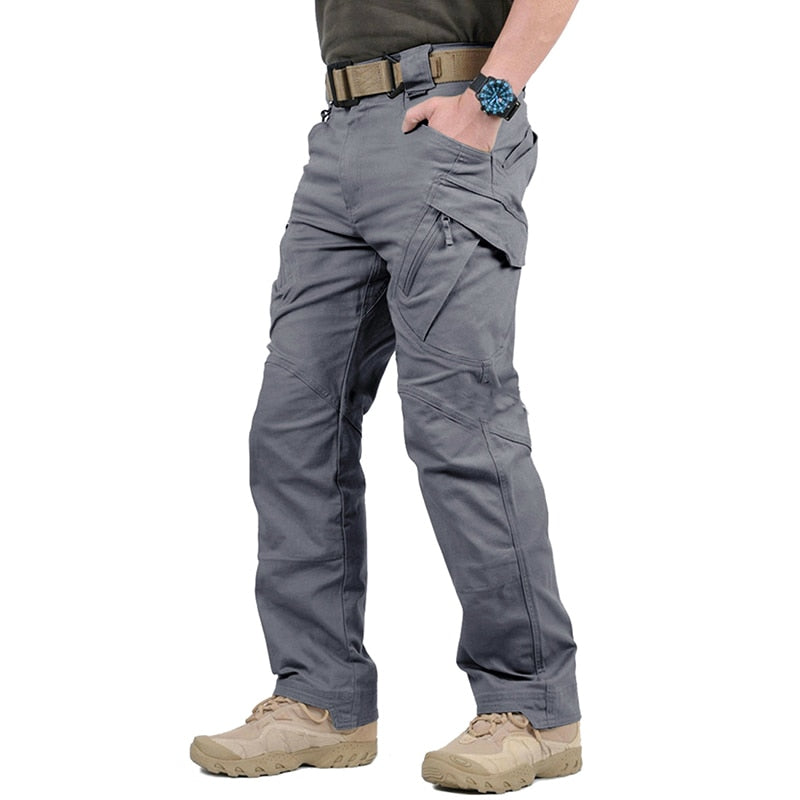 Men IX7 IX9 Cotton Tactical Pants Quality Ripstop Fabric Stitching Military CargoTrousers