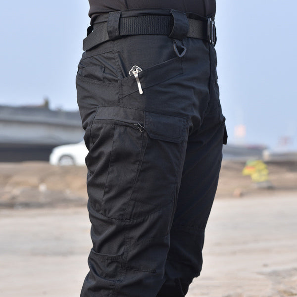 2019 Mens Military Tactical Pants SWAT Trousers Multi-pockets Cargo Pants