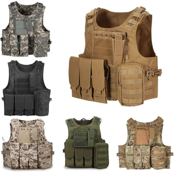 600D oxford Tactical Vest Mens Military Hunting Vest