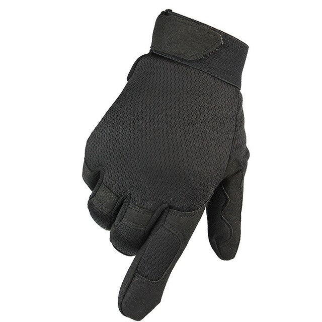 Army Military Men's Tactical Gloves Winter Full Finger Gloves Outdoor Sports