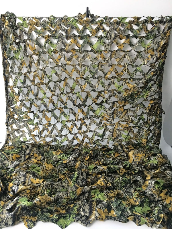 4X5M Military 3D Tree Leaves Camouflage Camo Net Netting Mesh Fabric for Outdoor Hunting Hide Cover