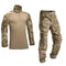 Tactical Camouflage Military Uniform Clothes Suit Men US Army