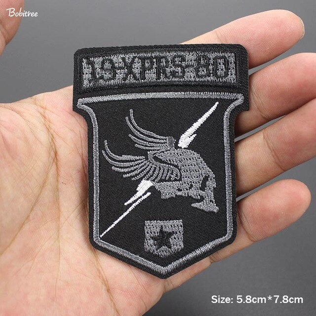 Uniform Military Patches Iron  Army Badges Embroidery