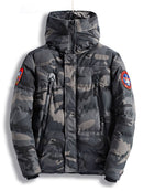 Winter Jacket Men Camouflage Army Thick Warm Coat