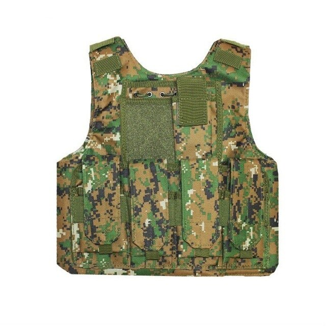12 Colors Army Fans Field Equipment Tactical Vest