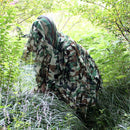 Strip Army Camouflage Clothes Unisex Ghillie Suits