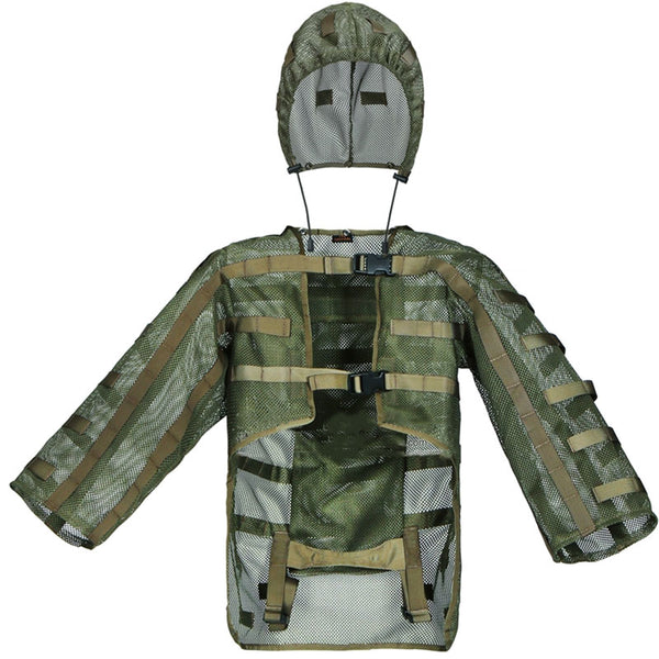 Army Tactical Camouflage Clothes Men Hunting Nylon Mesh Ghillie Suits