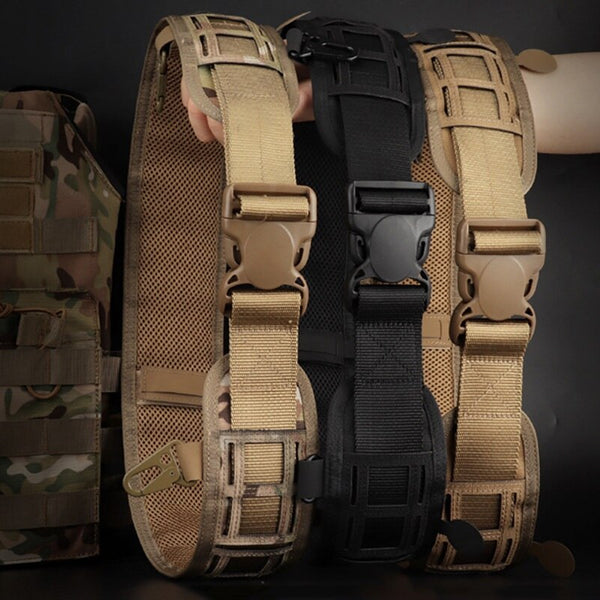 Tactical  Waist Belt Water Resistant Adjustable Training Belt