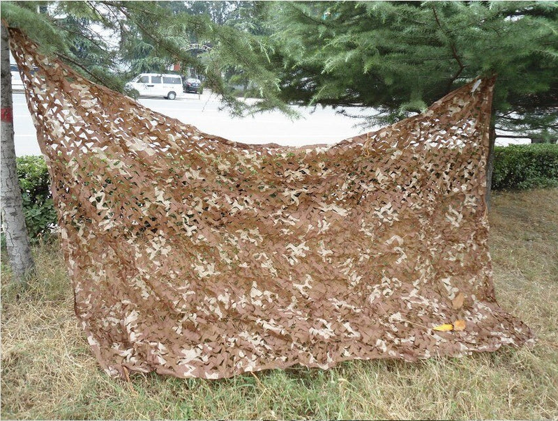 2.5X4M Desert Camouflage Net Autumn Leaves Camo netting for Camping and Hunting Sun Shelter