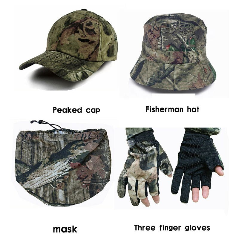 Military Tactical Bionic Hunting Clothingf or Fishing Birdwatching