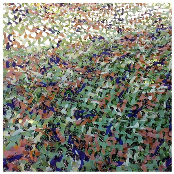 2X3M  Camo Netting Hunting Camouflage Net Mesh Sun Shelter Car Cover Blind Tent 7 Colors Optional