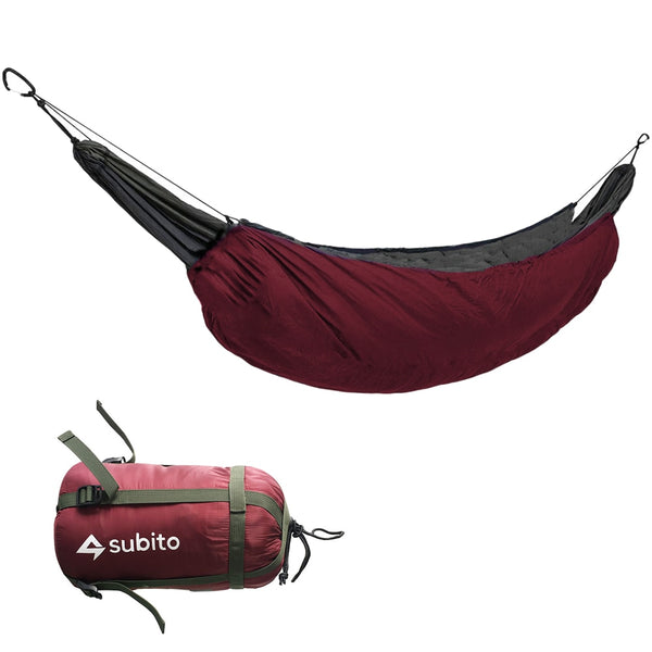 Outddor Camping  Portable Hammock Underquilt Hammock Thermal Under Blanket Hammock Insulation Accessory for Camping