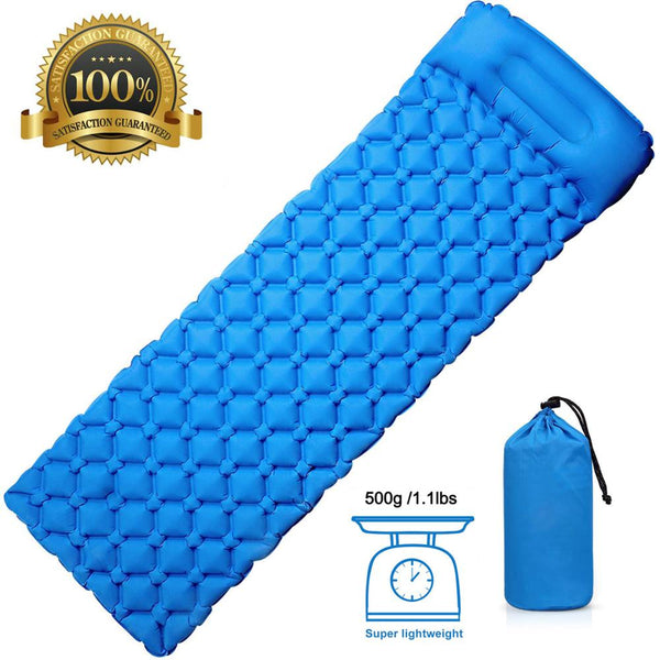 Rooxin Camping Mat Inflatable Mattress for Sleeping Pad Waterproof Cushion Mattress in Tent Air Bed for Travel Trekking Hiking