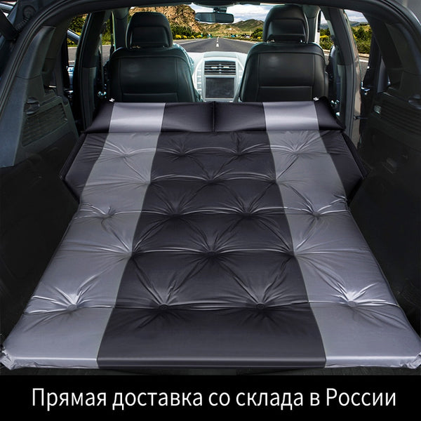 Car Air Inflatable Travel Mattress Bed Suv Car Mattress Car sleeping Pad Outdoor Camping Mat Automatic Air Cushion Bed For Kids
