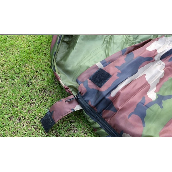 High quality Cotton Camping Sleeping Bag,15~5degree