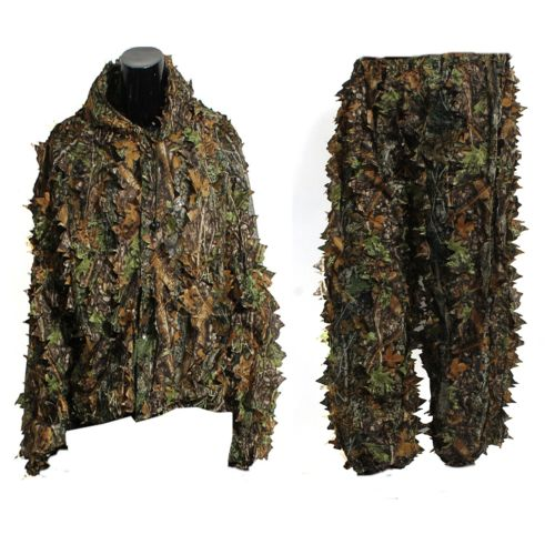 Military 3D Leaf Camouflage Camo Jungle Hunting Birding