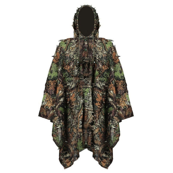 Hunting Ghillie Suit 3D Camo Bionic Leaf Camouflage