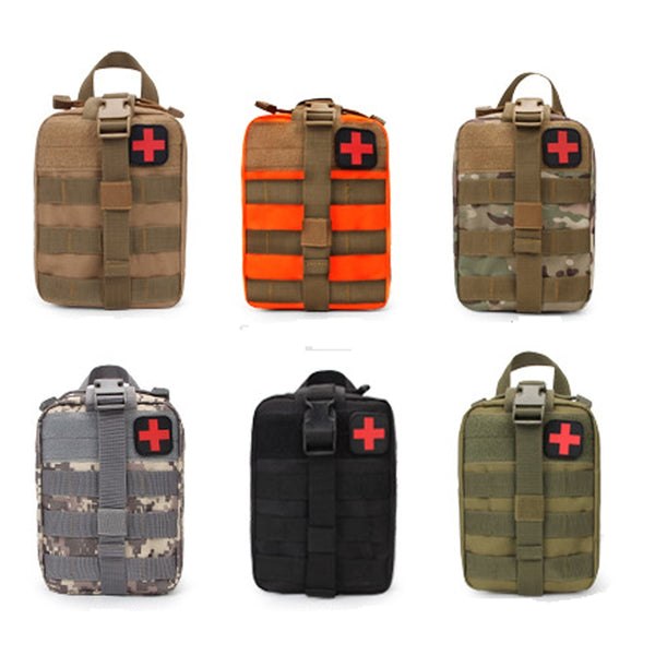 Hiking EDC Molle Tactical Pouch Bag Emergency First Aid survive  Kit Bag