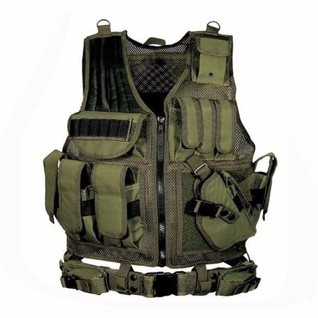 2019 Army Tactical Equipment Military Molle Vest Hunting Armor Vest