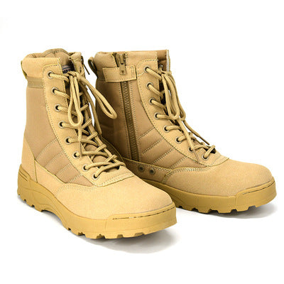 Men Tactical Boots Army Boots Men's Military Desert Waterproof