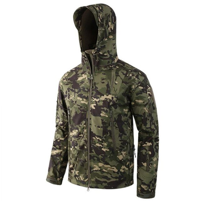Lurker Shark Skin Soft Shell TAD V 5.0 Military  Army Jacket Clothing